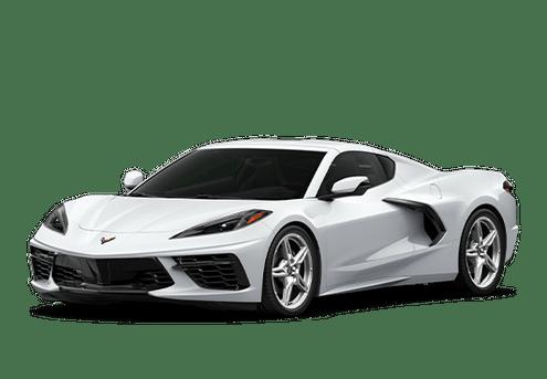 New Chevrolet Corvette in