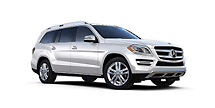New Mercedes-Benz GL-Class at Van Nuys