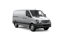 New Mercedes-Benz Sprinter Cargo Vans at Van Nuys