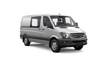 New Mercedes-Benz Sprinter Crew Vans at Van Nuys