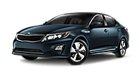 New Kia Optima Hybrid at Pelham