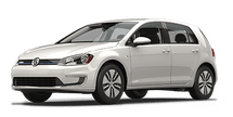 New Volkswagen e-Golf at San Juan Capistrano