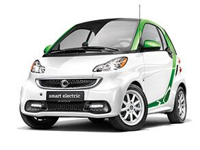 2016 Fortwo Electric Coupe