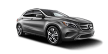 New Mercedes-Benz GLA at Harlingen