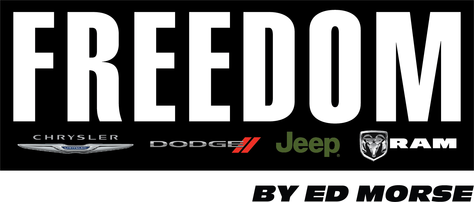 Freedom Chrysler Dodge Jeep Ram By Ed Morse logo