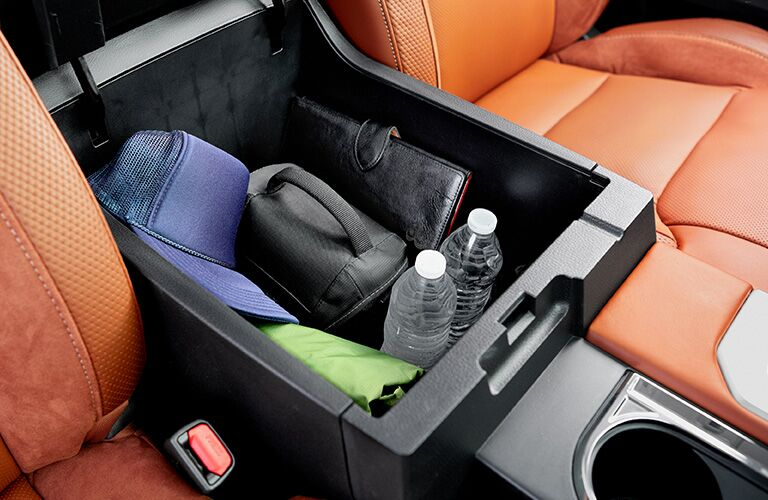 2020 Toyota Tundra expansive center console