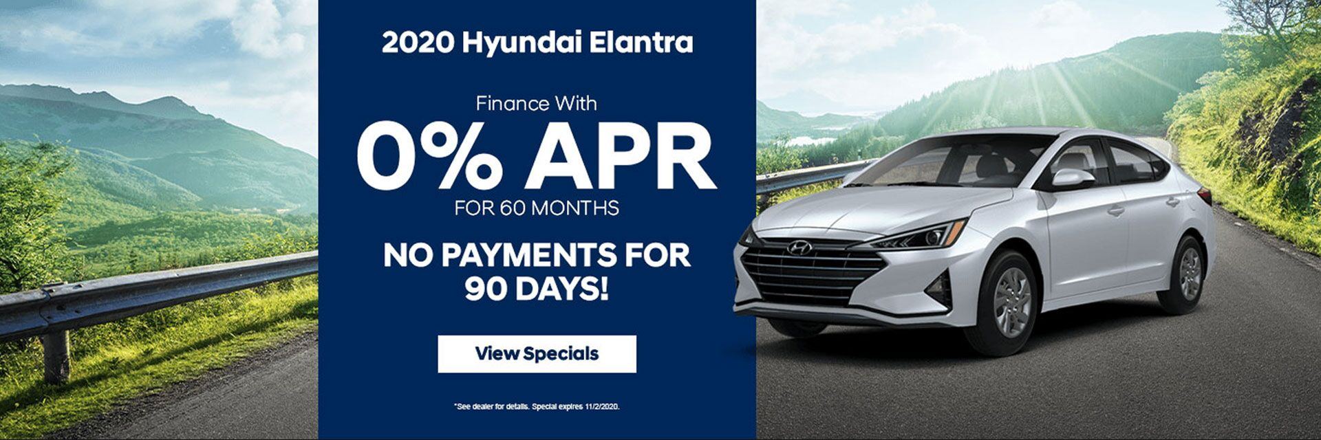 2020 Hyundai Elantra Finance