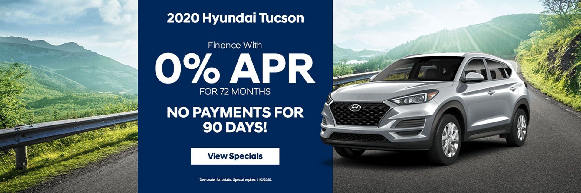 2020 Hyundai Tucson Finance