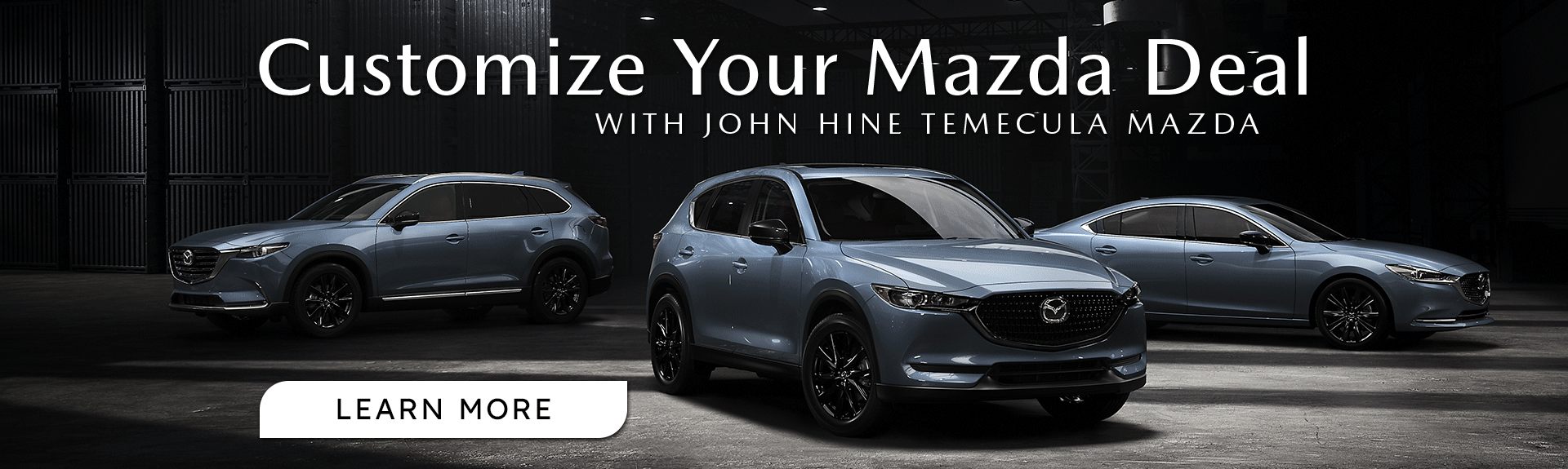 Customize Your Mazda Deal