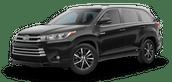 New Toyota Highlander Hybrid at Hattiesburg