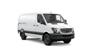 New Mercedes-Benz Sprinter Worker Cargo Van at San Luis Obispo