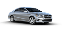 New Mercedes-Benz CLA at Rochester