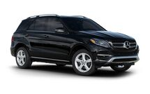 New Mercedes-Benz GLE-Class at Wilmington