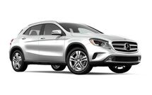 New Mercedes-Benz GLA-Class at Salem