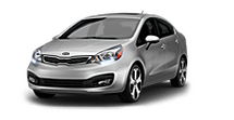 New Kia Rio at Saint Louis