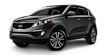 New Kia Sportage at Saint Louis