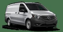 New Mercedes-Benz Metris Cargo Van at Kansas City