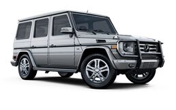 New Mercedes-Benz G-Class at Washington