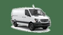 New Mercedes-Benz Sprinter Worker Cargo Van at Seattle