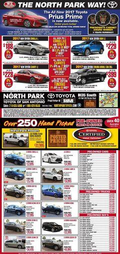 North Park Toyota - New Specials