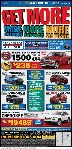 Palmen Motors Weekly Ad 5/27 (2)