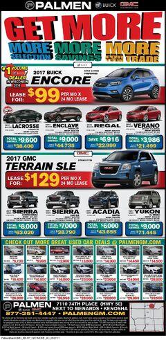 Palmen Motors Weekly Ad 5/27