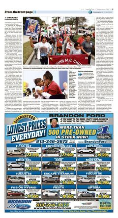 Today's Half Page Tampa Bay Times 01.17.2016
