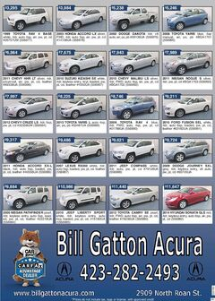Used Car Specials