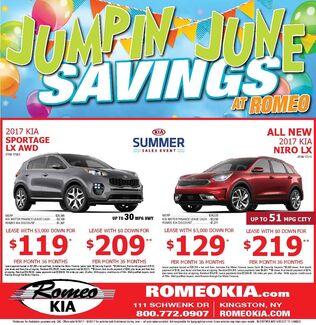 June Savings