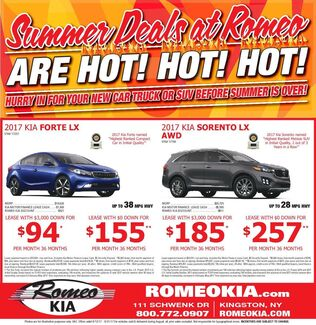 Summer Deals At Romeo