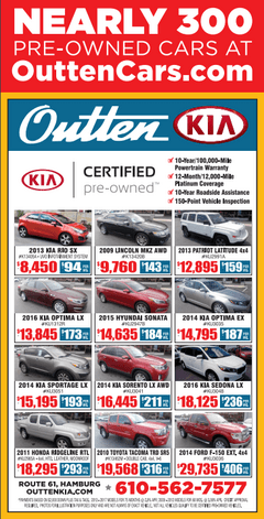Shop Certified Pre-owned at Outten Kia!