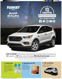#FordSummerEscape Contest