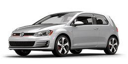 New Volkswagen Golf GTI at Chicago
