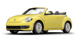 New Volkswagen Beetle Convertible at Chicago