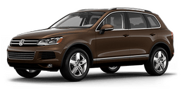 New Volkswagen Touareg at Chicago