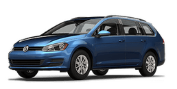 New Volkswagen Golf SportWagen at Chicago
