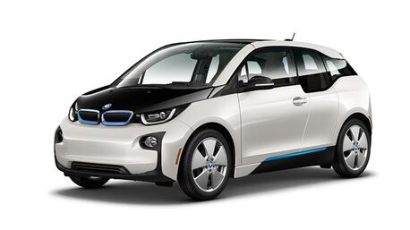 New BMW i3 in Mountain View