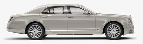 New Bentley Mulsanne in Newport Beach