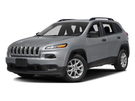 New Jeep Cherokee in Spring
