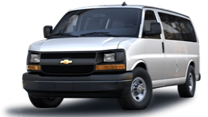 New Chevrolet Express Passenger in