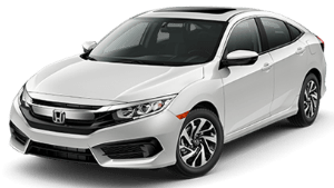 New Honda Civic in Lexington