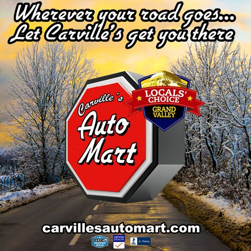 Carville's Winter Road Banner