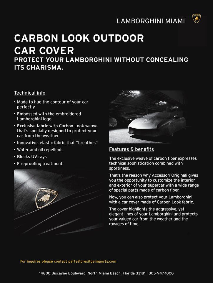 Carbon Outdoor Car Cover