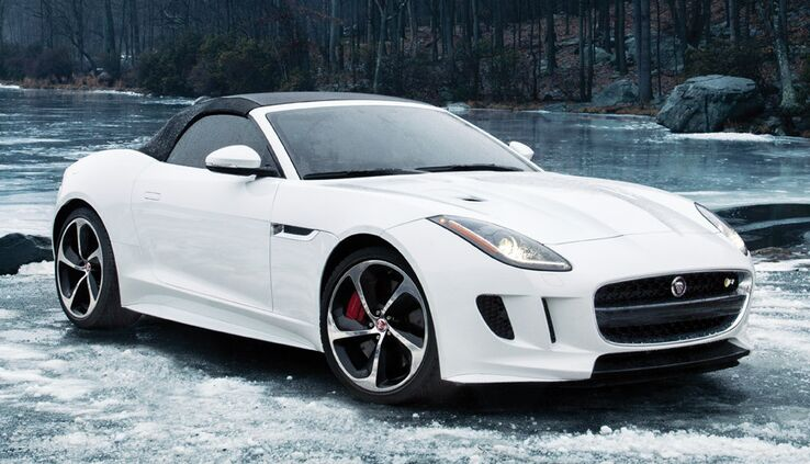 New Jaguar F-TYPE near Memphis