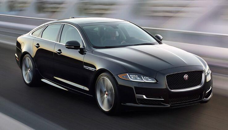New Jaguar XJ near Memphis