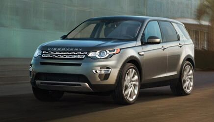 New Land Rover Discovery Sport near Tacoma