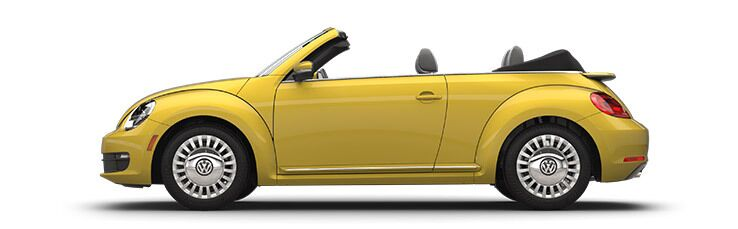 New Volkswagen Beetle Convertible near Seattle