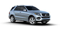 New Mercedes-Benz GLE near Greenland