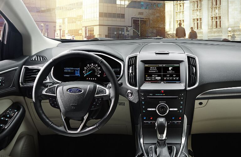 2015-ford-edge-interior-design-all-new-technology-instrument-panel