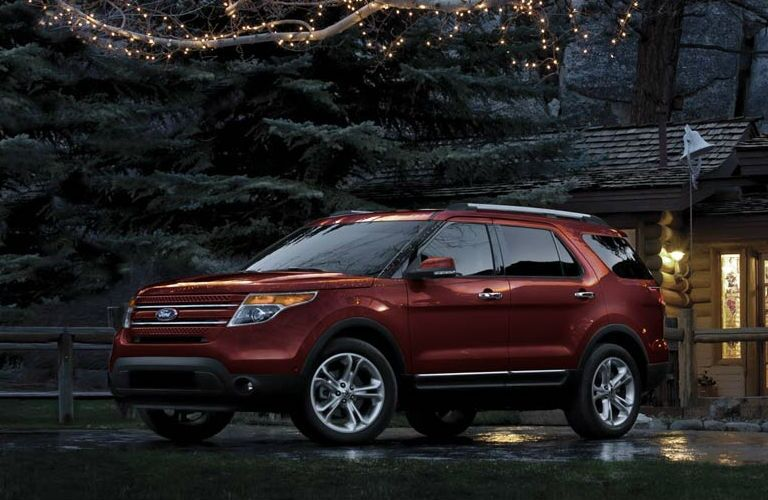 2015 ford edge vs 2015 ford explorer kansas - Ford Explorer 2015 Trunk Space